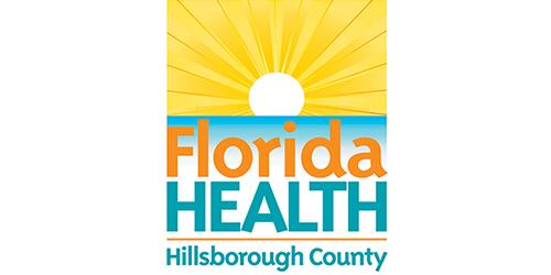 Florida Health Hillsborough County logo